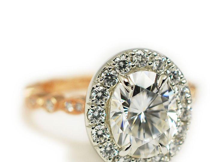 Tmx 1487712639220 14k Rose And Platinum Oval Cut Diamond   The Carol Denver, CO wedding jewelry