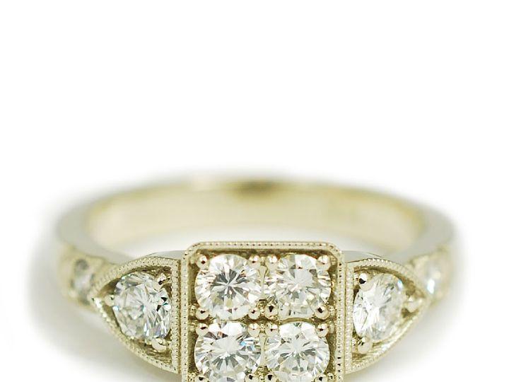 Tmx 1487712673594 14k White Gold Round Diamond Custom Engagement Rin Denver, CO wedding jewelry