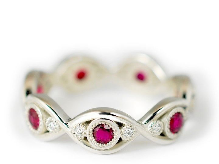 Tmx 1487712736257 Alternative Engagement Ring Diamond Ruby   The Dev Denver, CO wedding jewelry