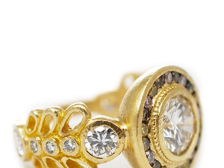 Tmx 1487714716682 14k Yellow Gold Round Diamond Custom Engagement Ri Denver, CO wedding jewelry