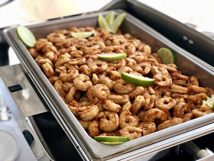 Ancho chili lime shrimp