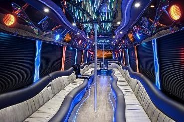 Tmx 1392260754248 32 Pass Limobus Interior  New York, New York wedding transportation