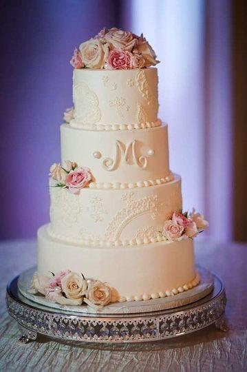 Three layer cake