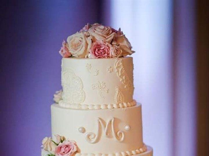 Tmx 1486569999976 Piped Lacework Virginia Beach, Virginia wedding cake