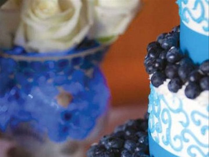 Tmx 1334143200598 Blueberry3 Vassalboro wedding cake