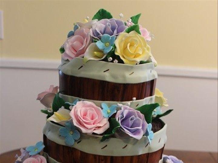 Tmx 1390881224034 04 Vassalboro wedding cake