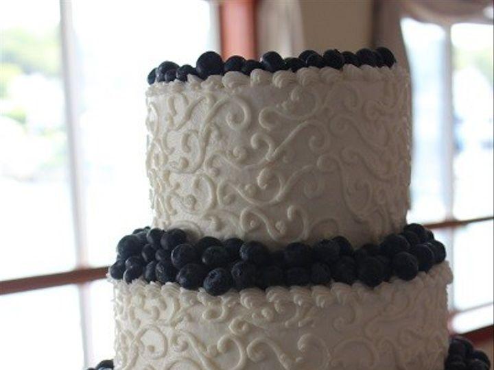 Tmx 1390881453677 02 Vassalboro wedding cake
