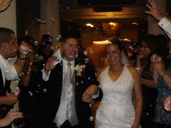 Wedding Reception Exit The Woodlands