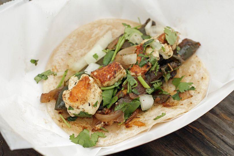 Paneer tacos (vegeterian)