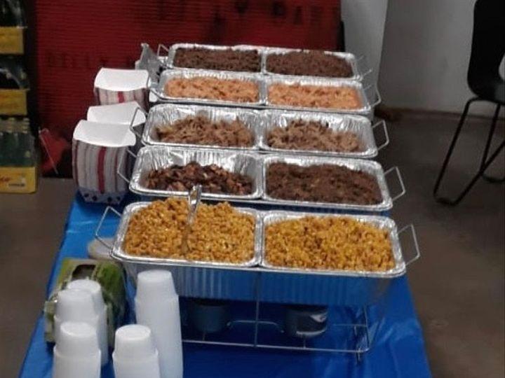 Tmx Mavs Taco Bar Setup 2 51 1029787 1572638358 Dallas, TX wedding catering