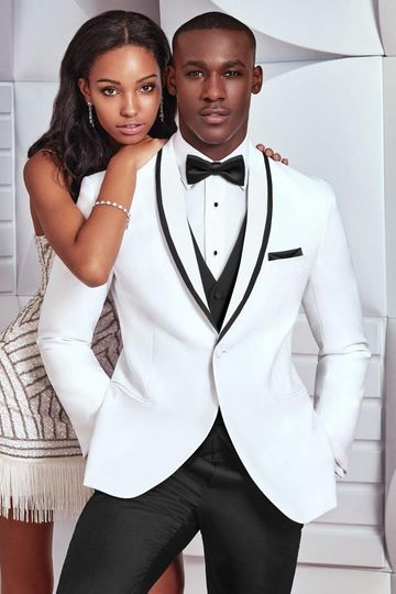 wedding tuxedo white ike behar waverly 751 1 51 589787