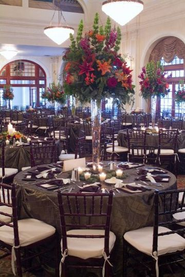 Wedding Reception at Crystal Ballroom in Houston