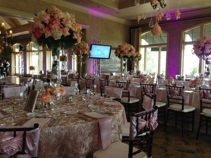 Wedding Reception at Royal Oaks Golf Club