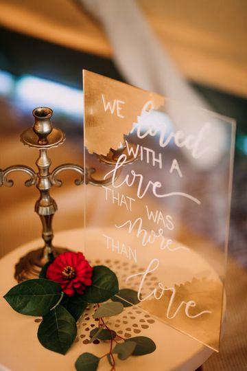 Clear table card | Brittyn Elizabeth Photography