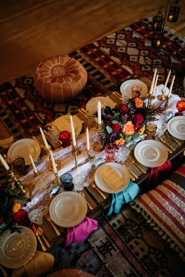 Reception table | Brittyn Elizabeth Photography