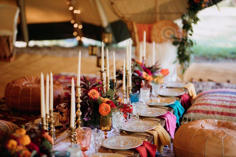 Table setting and decor | Brittyn Elizabeth Photography