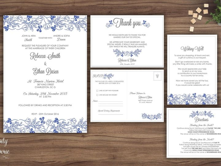 Tmx 1459968835469 Invitation Set Mockup North Wales wedding invitation