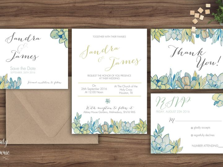 Tmx 1459968952157 Invitation Set Mockup North Wales wedding invitation