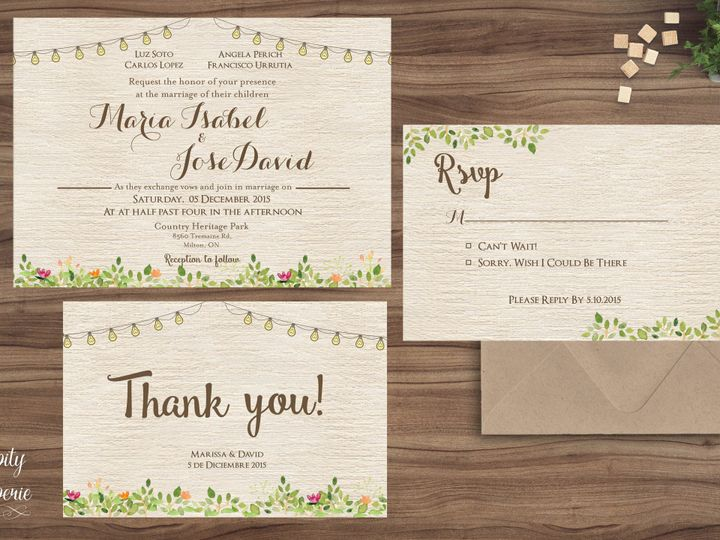 Tmx 1459969035158 Invitation Set Mockup North Wales wedding invitation