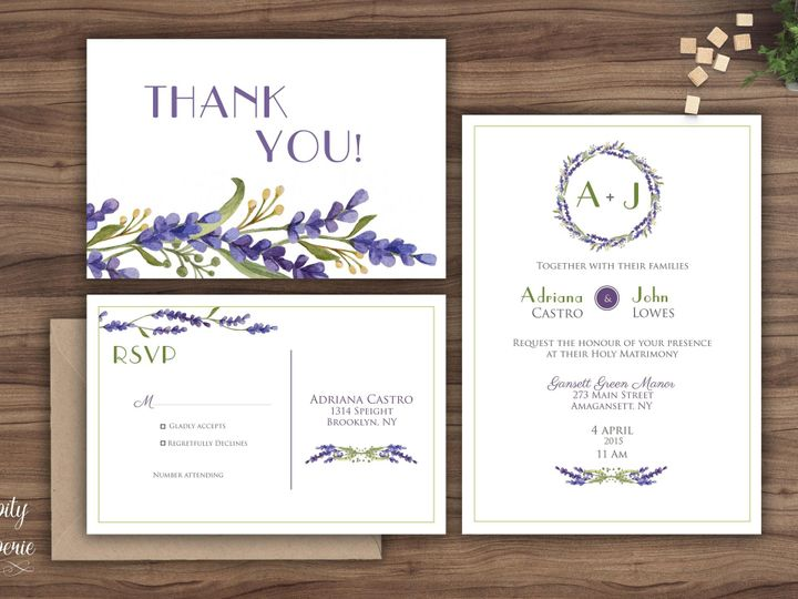 Tmx 1459969187946 Invitation Set Mockup North Wales wedding invitation