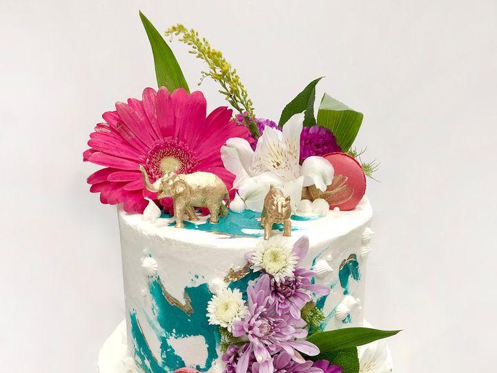 Tmx Safari Baby Shower Two Tiered Cake 51 1870887 1566838336 North Hollywood, CA wedding cake