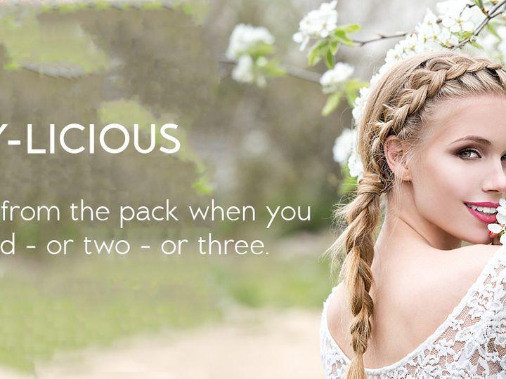 Tmx 1474939524305 Ebl Styleguide 2000x650braidy Licious 2 Foothill Ranch wedding beauty