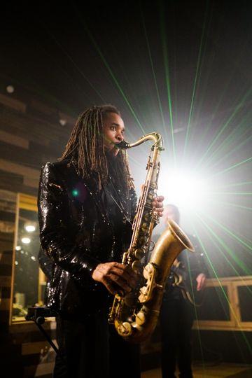 Adding a saxophone