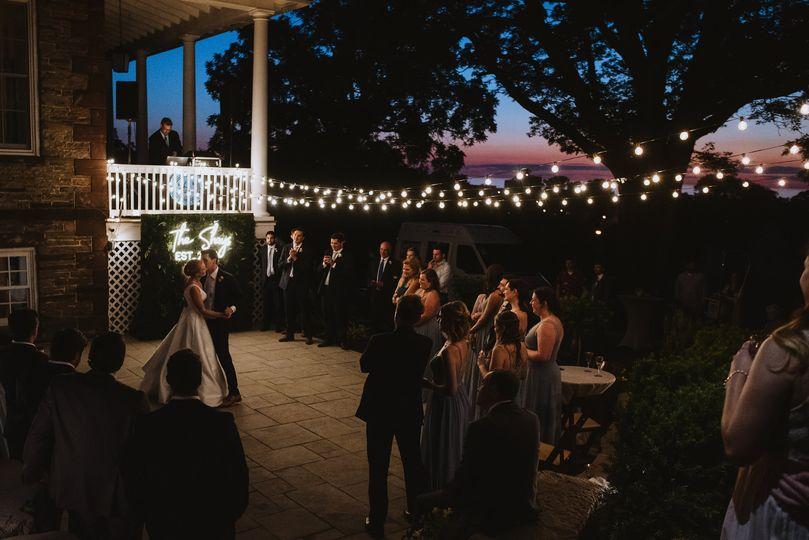 Backyard Dance Floor