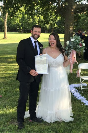 We got hitched!