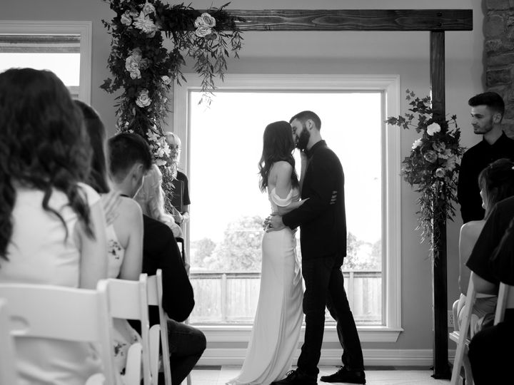 Tmx Katie And Max Black And White 51 1891887 159802081522522 Bixby, OK wedding officiant