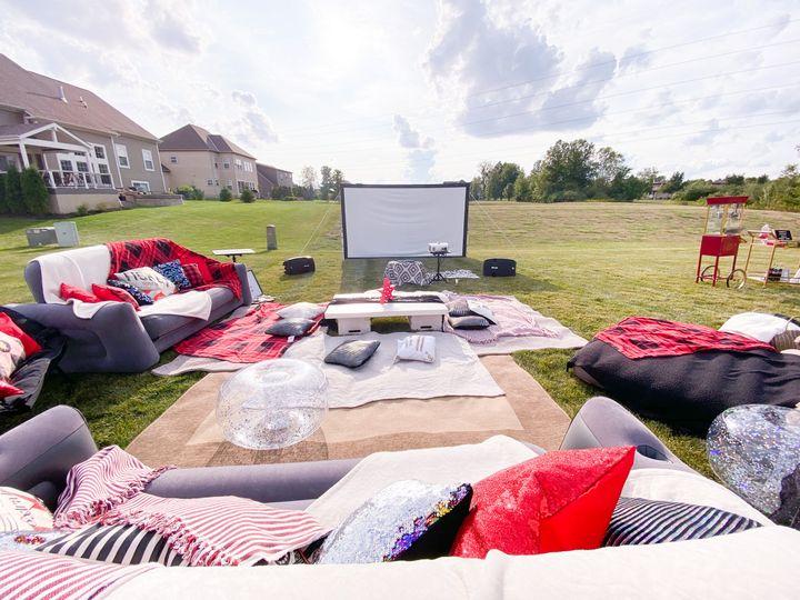 Movie Night, screen rental