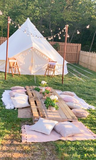 Bell Tent great for couples
