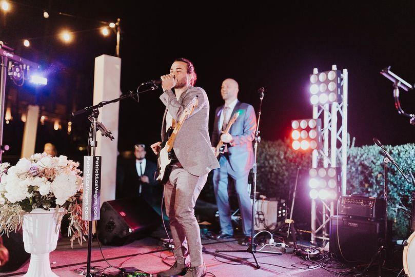 Patrick & the LVB - SD Wedding