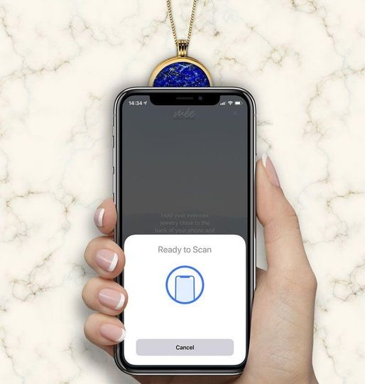 Scanning your pendant