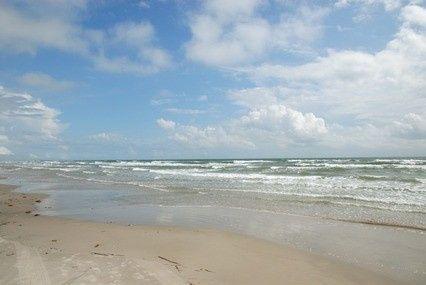 beach no people