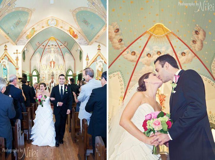 Ceremony St Mary's Catholic Church