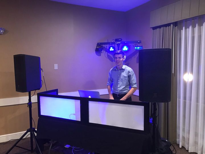 DJ Caleb Fine Lite Set Up