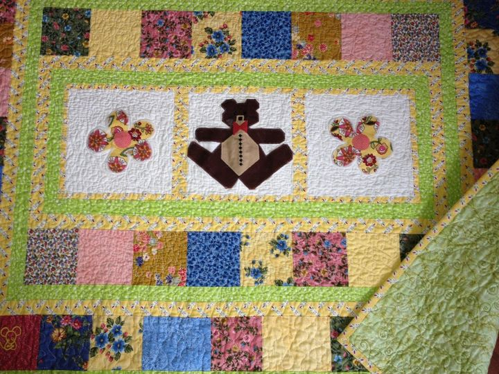 Tmx 1385131810768 Bernie Bear Quilt  Leland wedding invitation