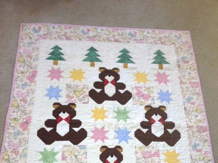 Tmx 1385131827791 Bear Quilt  Leland wedding invitation
