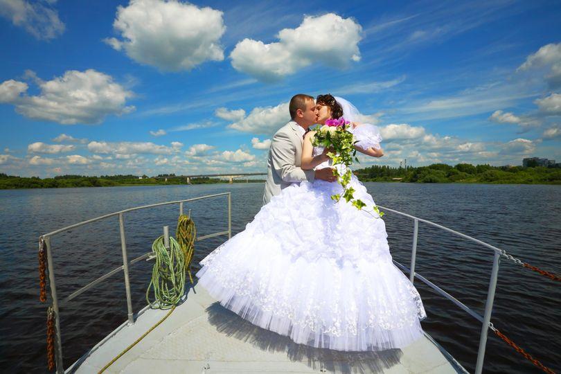 Yacht kiss