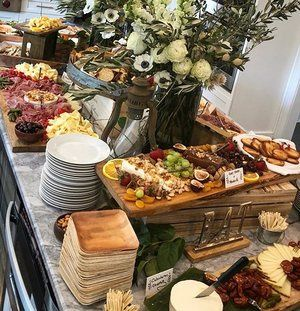 Hors d'Oeuvres display