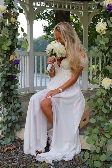 Bride in Gazebo