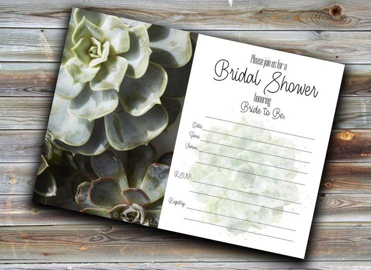 DIY Bridal Shower Card