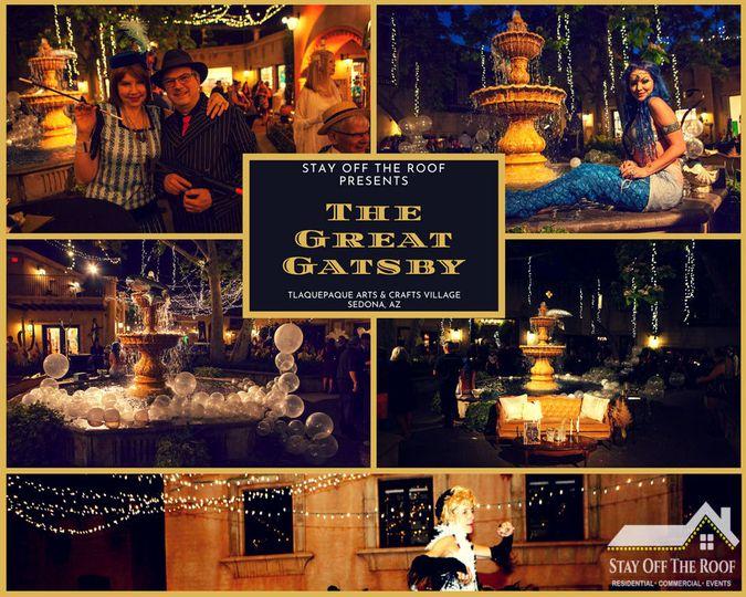 """""""Great Gatsby"""" event in Sedona AZ"""