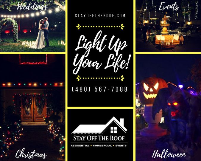 Wedding, Event, Holiday Lights & More!