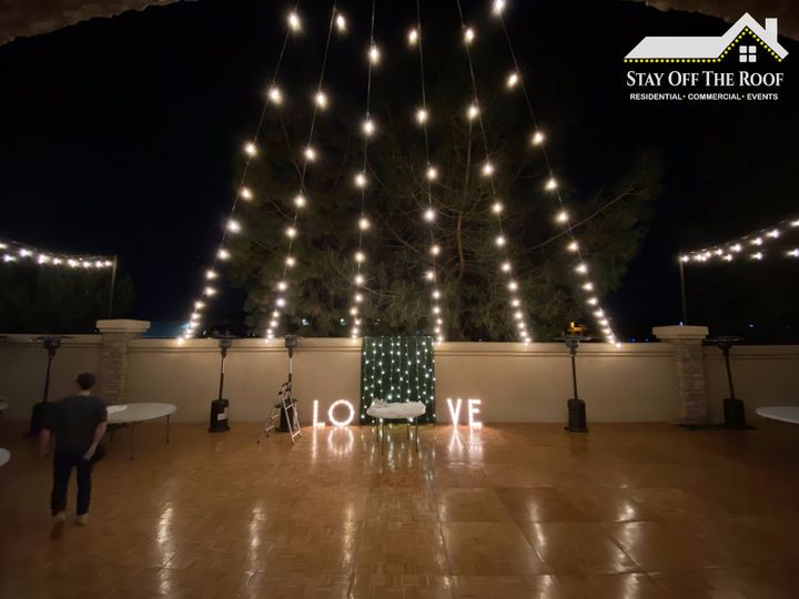 Wedding Lighting by SOTR