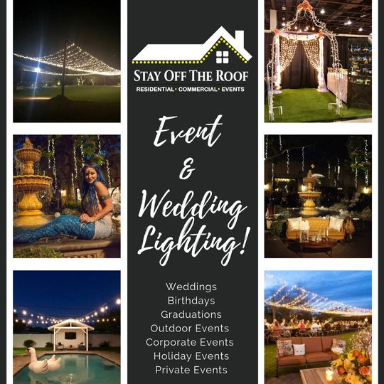 Wedding & Event Lighting