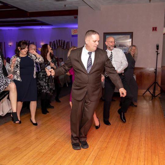 Dance floor in motion!