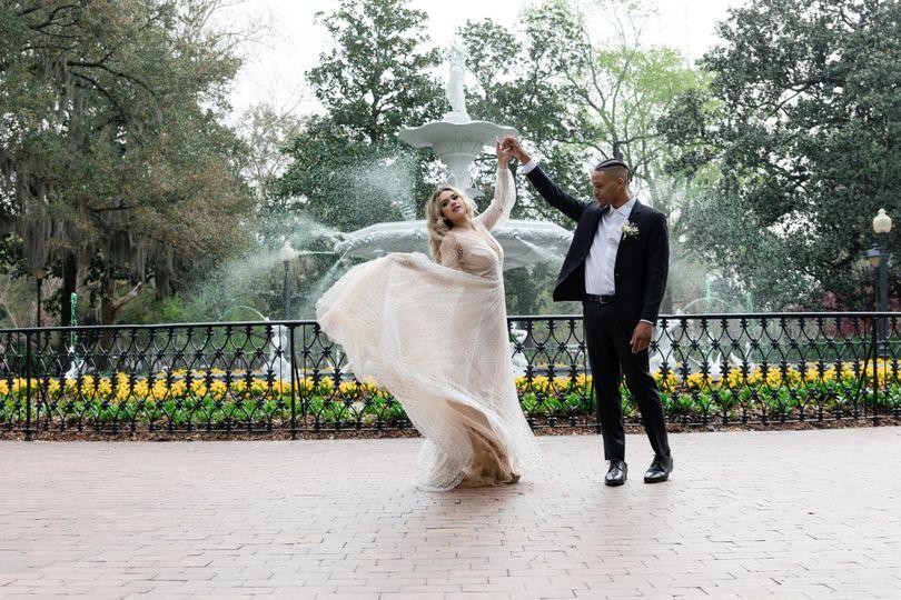 forsyth park elopement saannah ga 22 of 70 51 939887 161764911298645