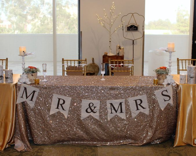 The wedding banners